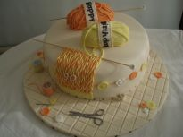 Lemon and Orange Knitting
